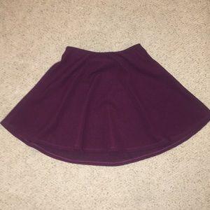 Purple Skater Skirt